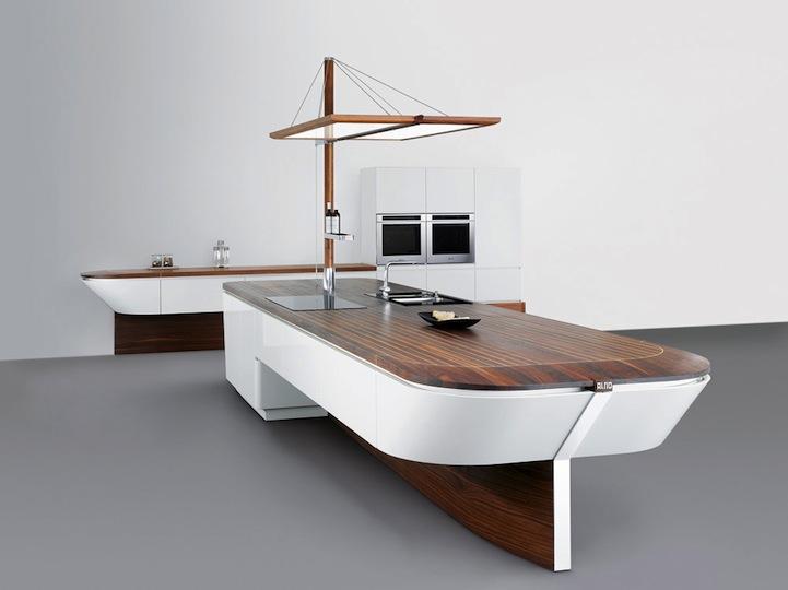 Marecucina una cocina inspirada en un barco reformas - Cocinas para barcos ...