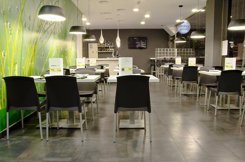 Reforma en Elche. Restaurante Number One.