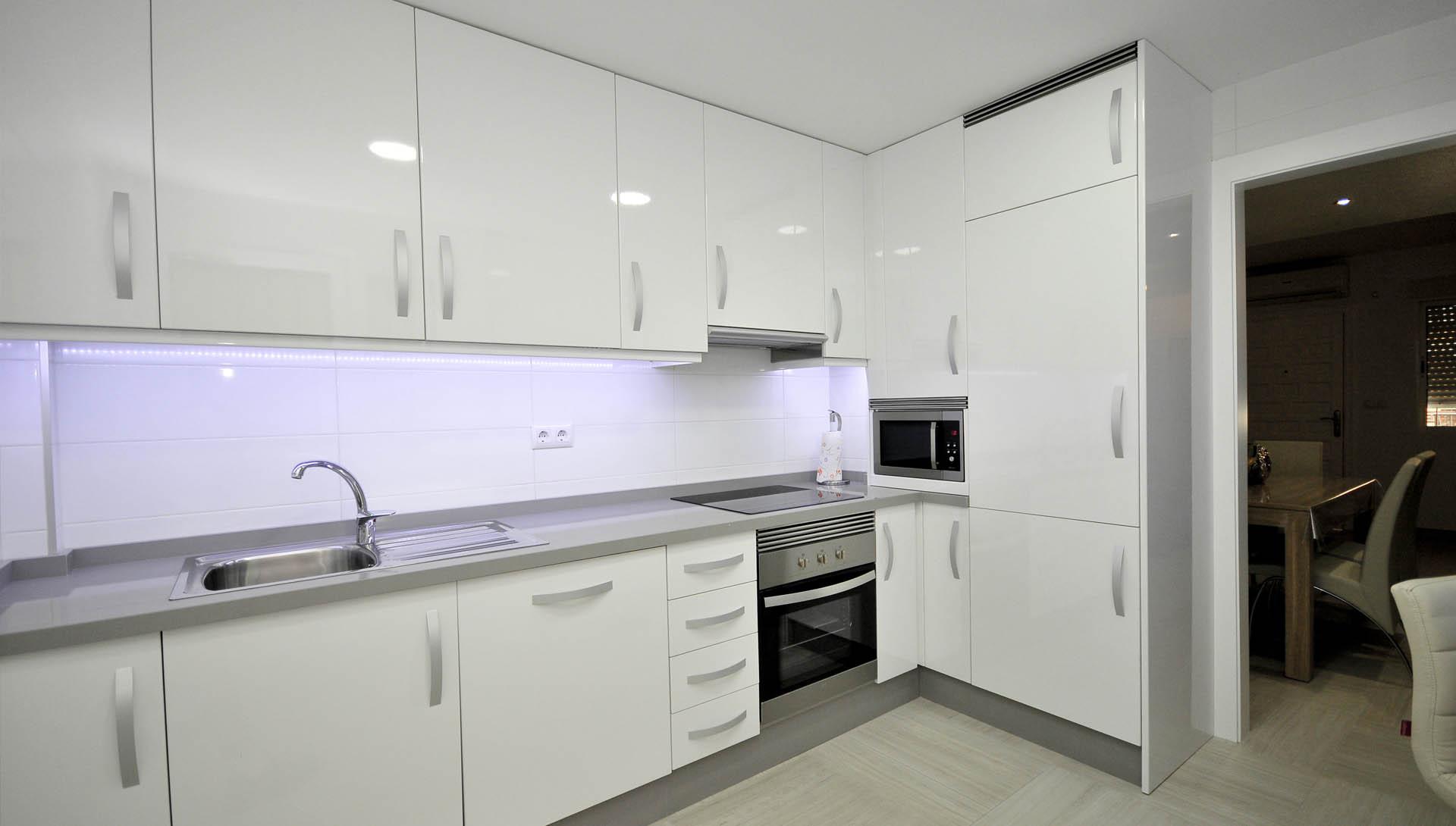 Dise os de cocinas integrales en aluminio reformas for Cocinas integrales en aluminio