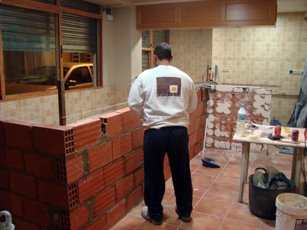 Reforma de restaurante casa rico con proyecto 3d for Barras para casa