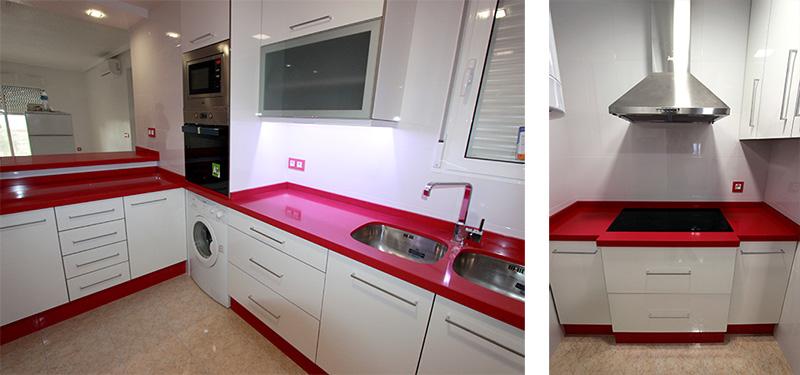Azulejos Baño Fucsia:Reforma de cocina y baño en Santa Pola