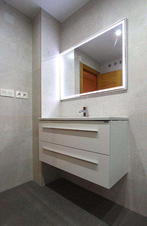 Reforma Baño A Ducha:Reforma de baño con plato de ducha