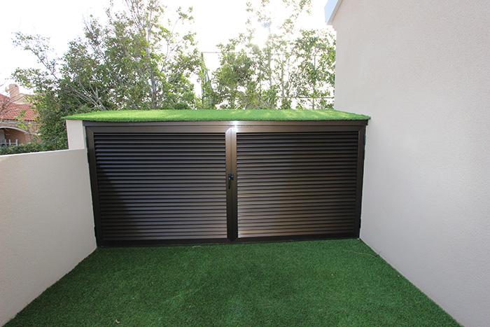 Armarios aluminio exterior terraza gallery of lavadero for Lavadero metalico