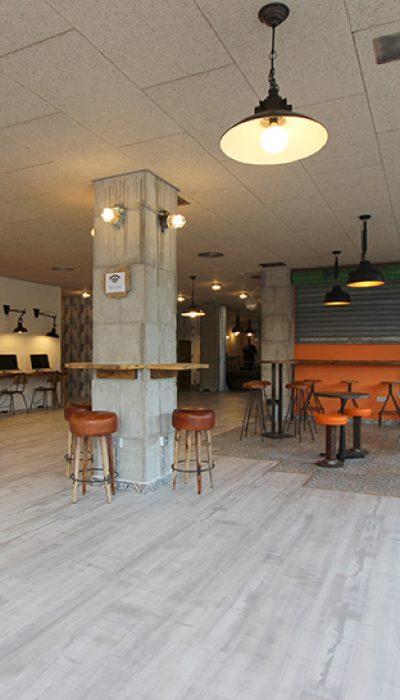 Reforma restaurante number one elche reformas novodeco for Oficina repsol butano